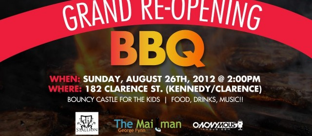 [event] Loc N Twist Grand ReOpening BBQ 8.26.12