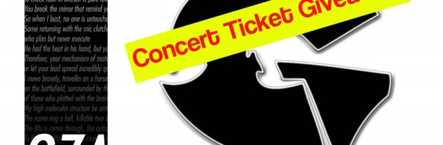 [event] GZA @ SOUND ACADEMY 9.15.12 (ticket giveaway)