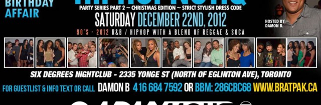 [event] HIPHOPNOTIQ – SAT. DEC. 22ND 2012